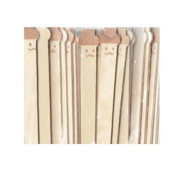 チープ 木製マドラー ひげ 100個入 毎日激安特売で 営業中です