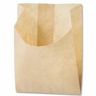 食品袋Hポテト耐油 モデル着用&注目アイテム 半額 S 未晒無地 W90×D35×H110mm 100枚入