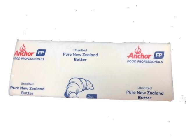 グラスフェッド 無塩バター 業務用5kg バターコーヒーにも美味しい 【送料無料】【冷凍】ニュージーランド産 グラスフェッドバター フォンテラ社製 アンカーバター 5kg 賞味期限2022.10.5
