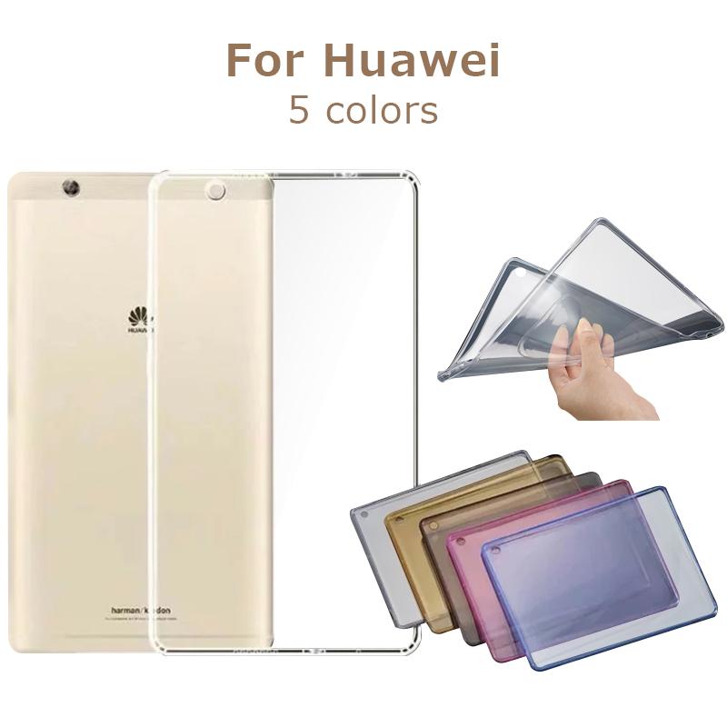 Huawei 即納 Mediapad T3 8 ケース MediaPad 7.0カバー タブレット専用カバー 薄型 シンプル 人気ブレゼント! 衝撃吸収 保護カバー クリアケース 高品質TPU 半透明 超薄型 軽量 Li M5 耐衝撃 HUAWEI SIMフリー Pro lite M3 クリア 8.4ソフトケース 送料無料 8.0カバー 10.8カバー 8.4