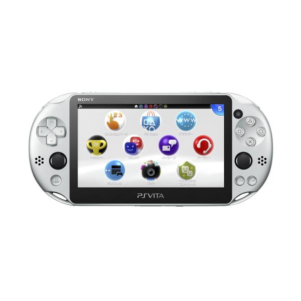 【新品】【PSVita】 PlayStation Vita (プレイステーション ヴィータ) 本体 Wi‐Fiモデル シルバー [PCH-2000ZA25]