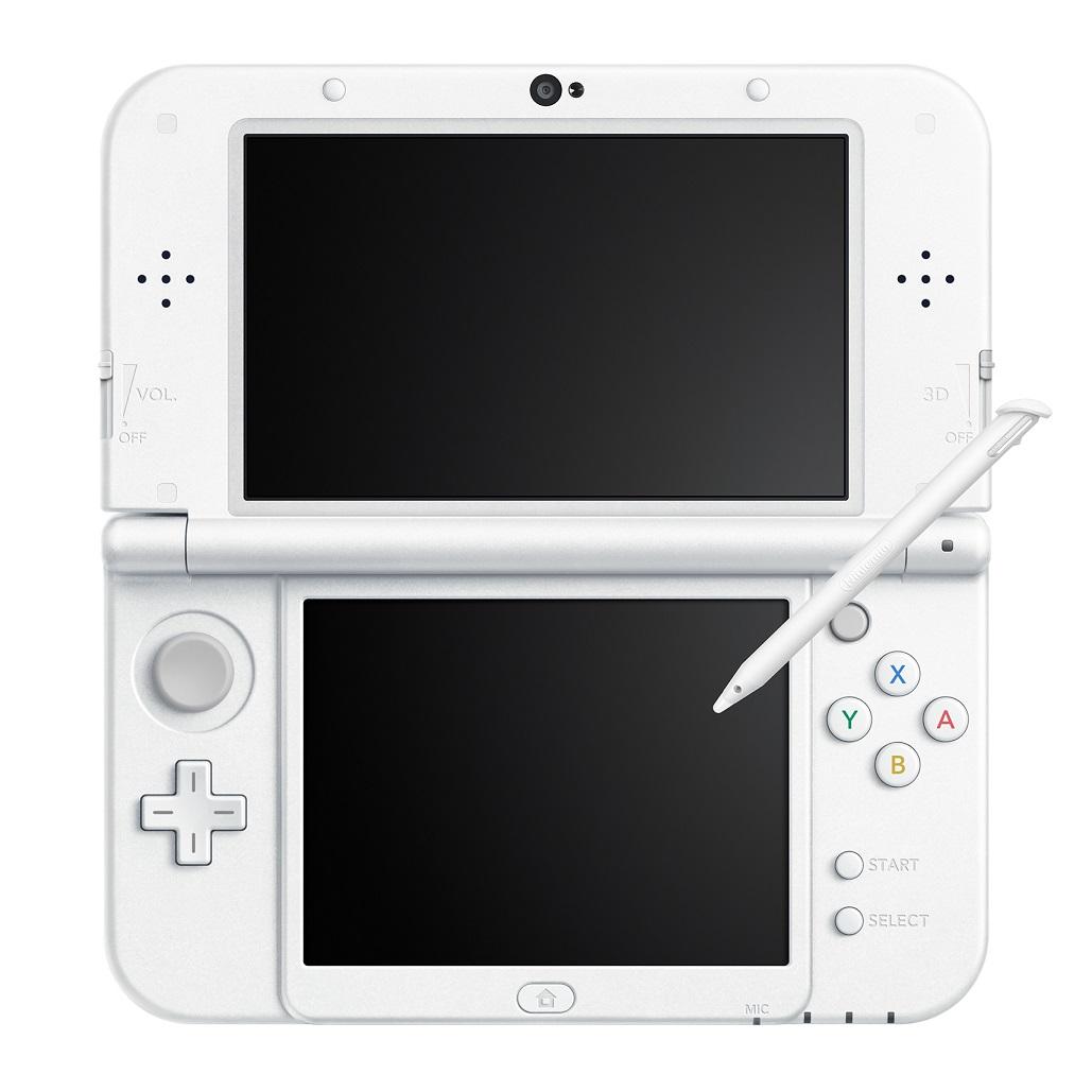 【新品】【3DS】 New ニンテンドー3DS LL 本体 パールホワイト [RED-S-WAAA]