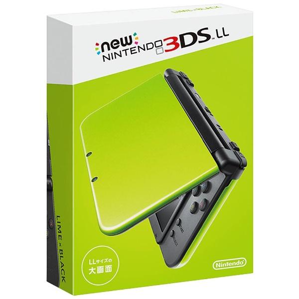 【新品】【3DS】 Newニンテンドー3DS LL ライム×ブラック [RED-S-MAAA]
