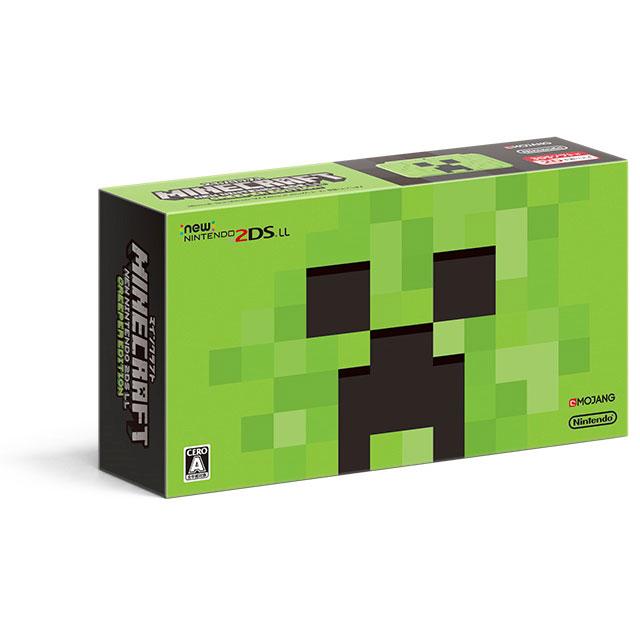 【予約】【2DS】 8月2日発売予定 MINECRAFT Newニンテンドー2DS LL CREEPER EDITION [JAN-S-MBDG] 2DSLL 3DS 本体