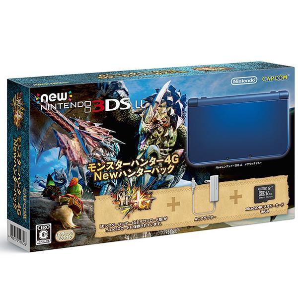 【新品】【3DS本体】 Newニンテンドー3DS LL モンスターハンター4G Newハンターパック [RED-S-BADC][New3DSLL]