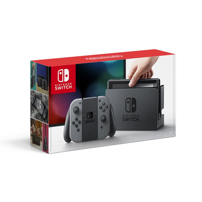 ★即納★【新品】【NSW】 Nintendo Switch Joy-Con(L)/(R) グレー [ニンテンドー スイッチ 本体][HAC-S-KAAAA][お一人様1点限り]