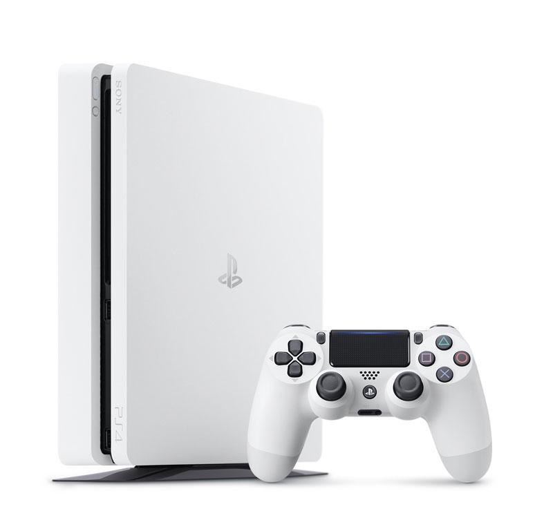 【新品】【PS4】 PlayStation4 グレイシャー・ホワイト 500GB [プレイステーション4 本体][CUH-2100AB02]