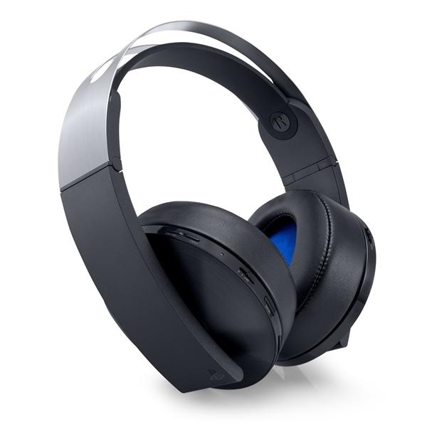 【新品】【PS4】 プレミアムワイヤレスサラウンドヘッドセット [CUHJ-15005]【周辺機器】