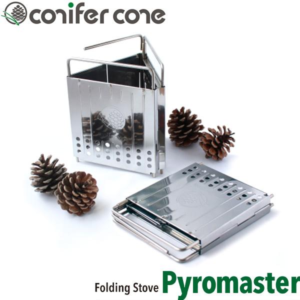 【田中文金属】 conifer cone コニファーコーン フォールディングストーブ パイロマスター [日本製]