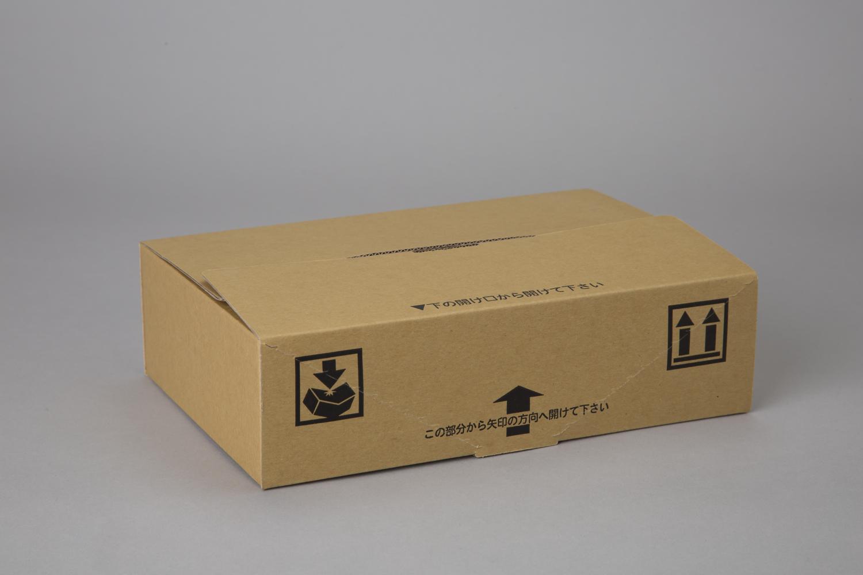 段ボール (ダンボール) 段ボール箱 テープハサミ不要 梱包 宅配 W237×D160×H68mm 100枚 オリパ LT-1