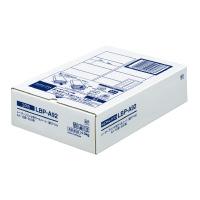 LBP-A92 モノクロレーザープリンタ用紙ラベル A4 500枚入 12面カット コクヨ 4901480589763