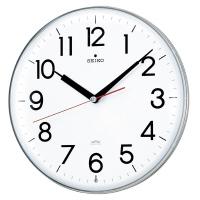 【メーカー直売】 セイコークロック (KX301H)電波掛時計 白 白 直径294×47mm, 紀州 器楽や:8472be42 --- canoncity.azurewebsites.net