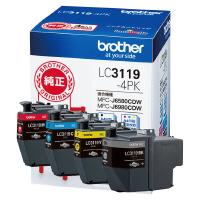 ブラザー (LC3119-4PK)ブラザー純正インクカートリッジ LC3119-4PK (4色パック)