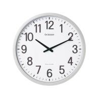 キングジム (GDK-001)LADONNA 電波掛時計 ザラ-ジ 直径498×53mm