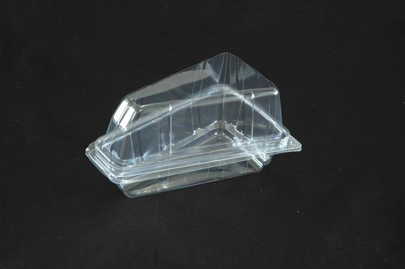 フードパック 記念日 嵌合容器 ユニコン 付与 ケーキ1 1セット50枚入 透明