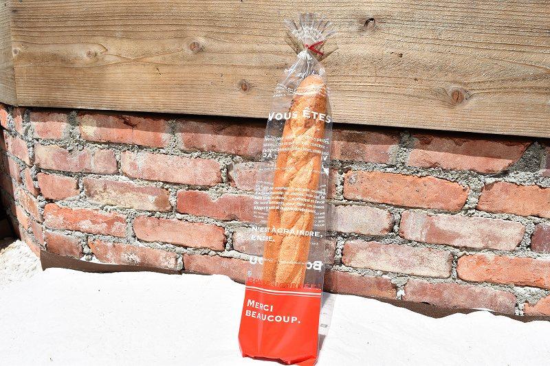 人気急上昇 パン 袋 ラッピング お気に入り OPPアンフルールパック 1セット100枚 バケット メルシールージュ フランスパン