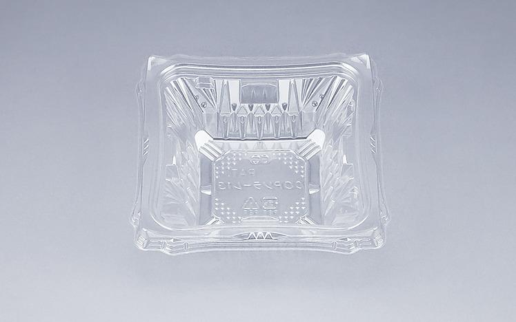 COPソラーレ13本体(N)(1200個/ケース) 使い捨て サラダ 惣菜 麺 プラスチック容器 ボウル 透明 使い捨て ワンプッシュオープン