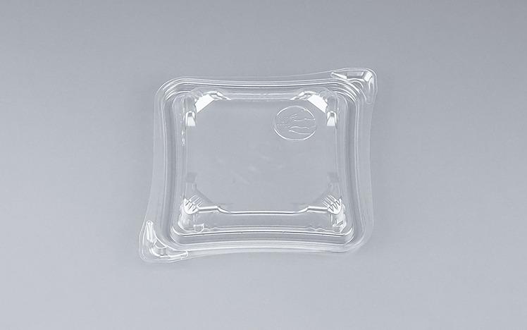 COPソラーレ13Y嵌合蓋(N)(1200個/ケース) 使い捨て サラダ 惣菜 麺 プラスチック容器 ボウル 透明 使い捨て ワンプッシュオープン