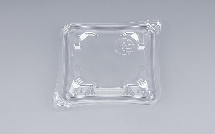 COPソラーレ15Y嵌合蓋(N)(900個/ケース) 使い捨て サラダ 惣菜 麺 プラスチック容器 ボウル 透明 使い捨て ワンプッシュオープン