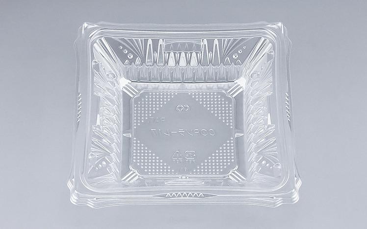 COPソラーレ17本体(N)(600個/ケース) 使い捨て サラダ 惣菜 麺 プラスチック容器 ボウル 透明 使い捨て ワンプッシュオープン