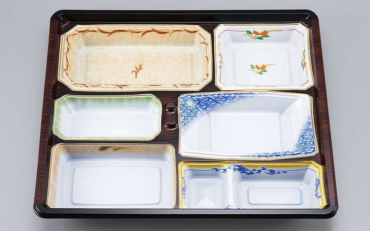 【シーピー化成】 NU-237 京洛共蓋セット 180枚セット/ケース 祭事 仕出し お弁当容器 弁当箱 使い捨て