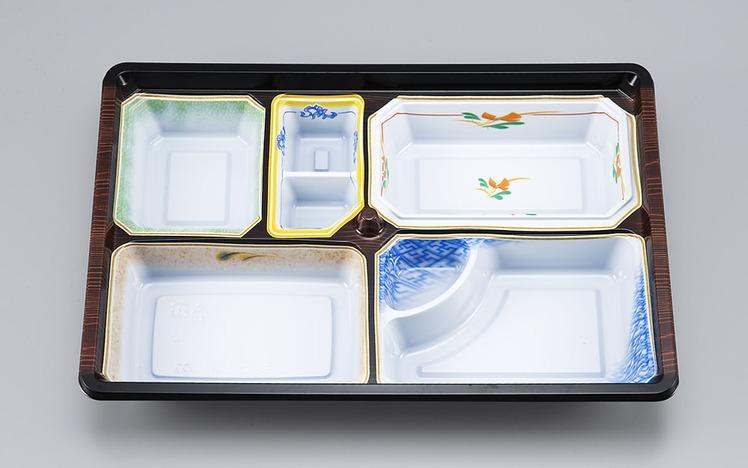 【シーピー化成】 NU-233 京洛共蓋セット 240枚セット/ケース 祭事 仕出し お弁当容器 弁当箱 使い捨て