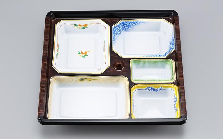 【シーピー化成】 NU-232 京洛共蓋セット 280枚セット/ケース 祭事 仕出し お弁当容器 弁当箱 使い捨て