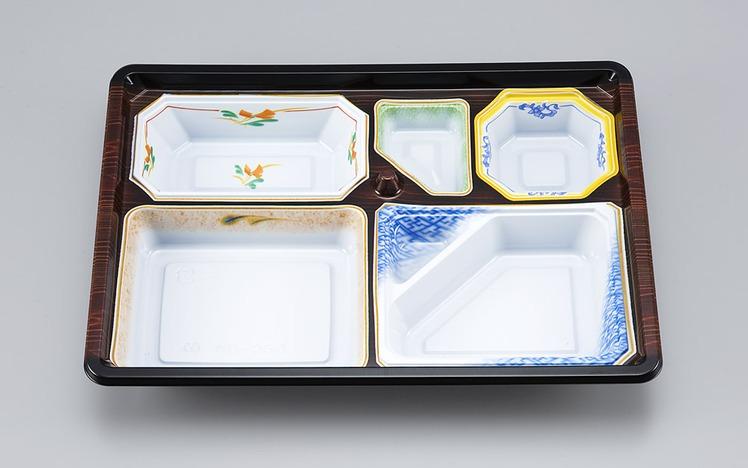 【シーピー化成】 NU-230 京洛共蓋セット 400枚/ケース 祭事 仕出し お弁当容器 弁当箱 使い捨て