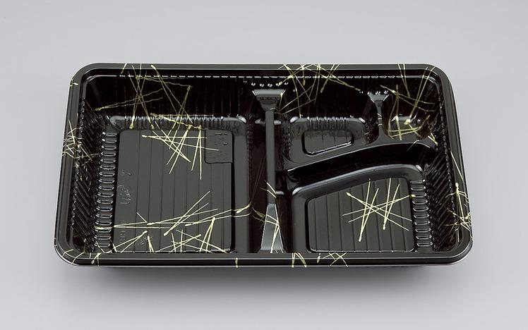 【シーピー化成】 Z-251松葉セット (1200枚/ケース)定番/お弁当容器/セット/使い捨て