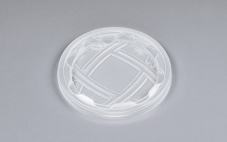 使い捨て容器の蓋 UFカップ95 PP嵌合蓋 (2000枚/ケース)