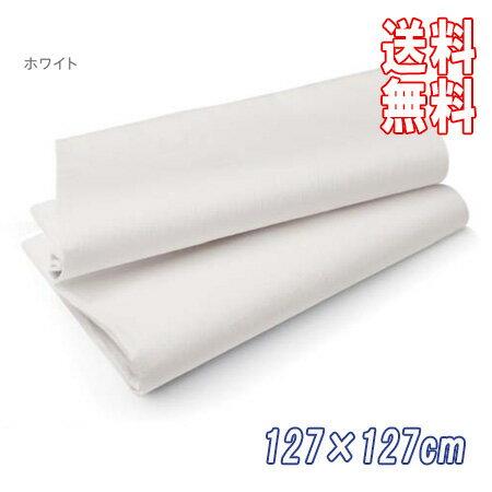 送料無料★ケース DUNI 164168 テーブルカバー 127×127cm ホワイト (50枚)Duni ワンランク上のホームパーティー 布のような 紙製 おしゃれ シンプル デザイン テーブルクロス