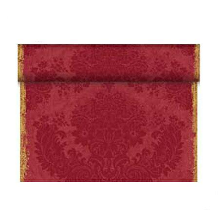 174319 ブリッジランナー ベーシック 40cm×24m ロイヤルワインレッド (4本/ケース)Duni ワンランク上のホームパーティー 布のような 紙製 使い捨て おしゃれ シンプル デザイン