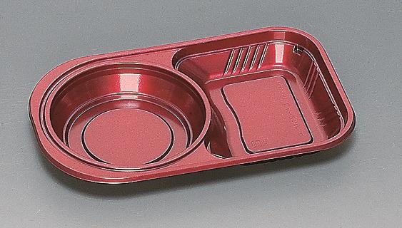 ★送料無料★LA-250 本体 シルクレッド新(600枚/ケース) 使い捨て容器