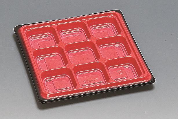 ★送料無料★FA-322本体 黒内赤(450枚/ケース) 使い捨て容器
