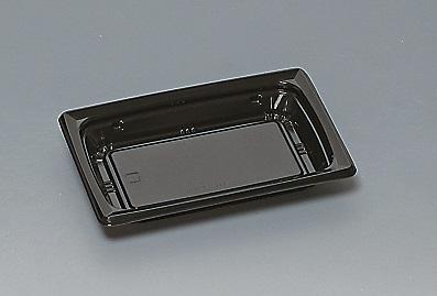 ★送料無料★福皿18-12U 本体 黒(L)(900枚/ケース) 使い捨て容器