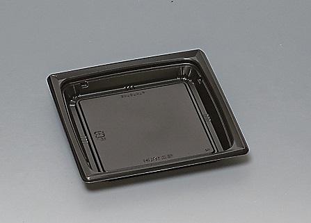 ★送料無料★福皿18U 本体 黒(600枚/ケース) 使い捨て容器