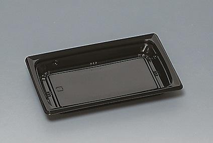 ★送料無料★福皿21-13U 本体 黒(L)(600枚/ケース) 使い捨て容器
