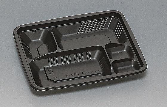 ★送料無料★LA-227-4 本体 黒(600枚/ケース) 使い捨て容器