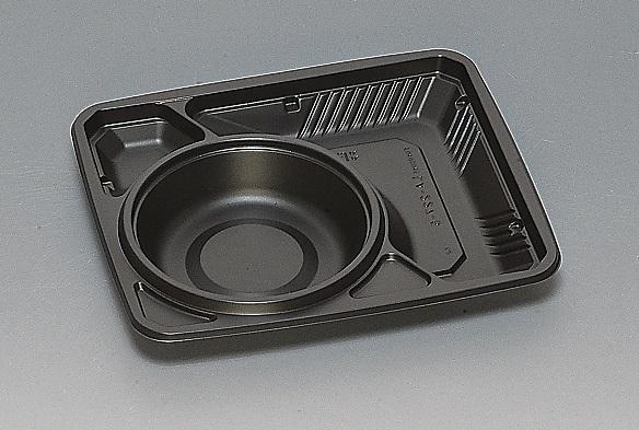 ★送料無料★LA-227-5 本体 黒(600枚/ケース) 使い捨て容器