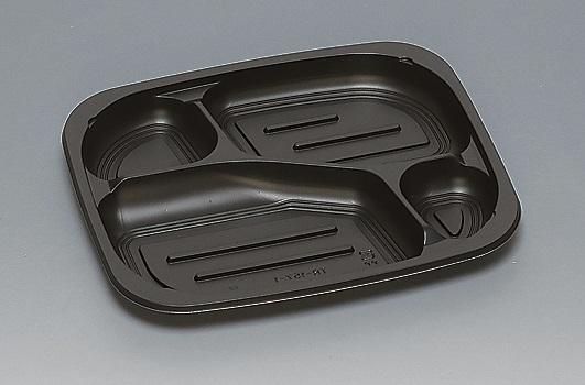 ★送料無料★TR-157-1 本体 黒(450枚/ケース) 使い捨て容器