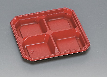 ★送料無料★TR-187-2 本体 R/B(600枚/ケース) 使い捨て容器