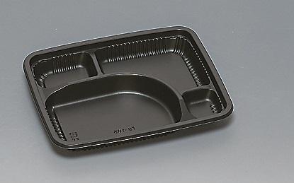 ★送料無料★TS-165 本体 黒(600枚/ケース) 使い捨て容器
