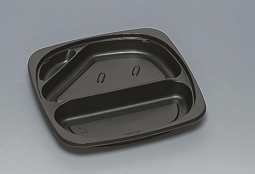 ★送料無料★TR-252 本体 黒(400枚/ケース) 使い捨て容器