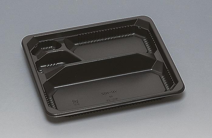 ★送料無料★TR-102 本体 黒(400枚/ケース) 使い捨て容器