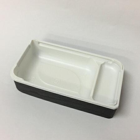 【高級弁当】ワン折SPN 70×37黒焼杉/CR底/K7蓋 (400セット)