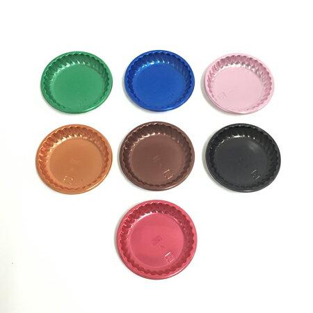 GMカラートレー86フルールA(2000枚入)使い捨て/ケーキ/トレー/洋菓子/カラフル/デコレーション