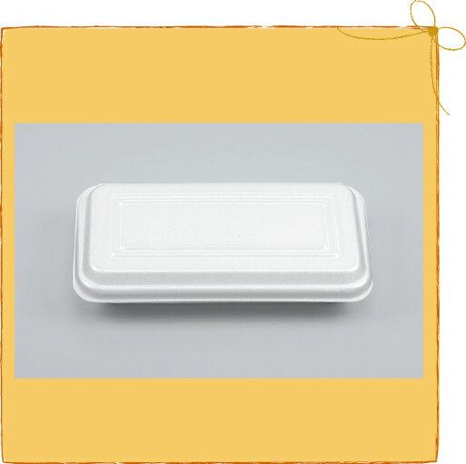 【メーカー直送】【シーピー化成】発泡容器 VK-65 無地 折蓋角丸 (1200枚/ケース)