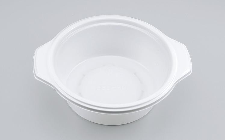 使い捨て容器 BF-385 ホワイト本体 (900枚/ケース)シーピー化成 使い捨て カレー容器 シチュー テイクアウト 業務用 宅配 持ち帰り テイクアウト