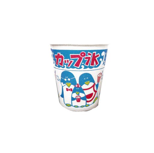 使い捨て容器 かき氷 氷カップ(小) A-250 親子ペンギン柄 (1000個/ケース)