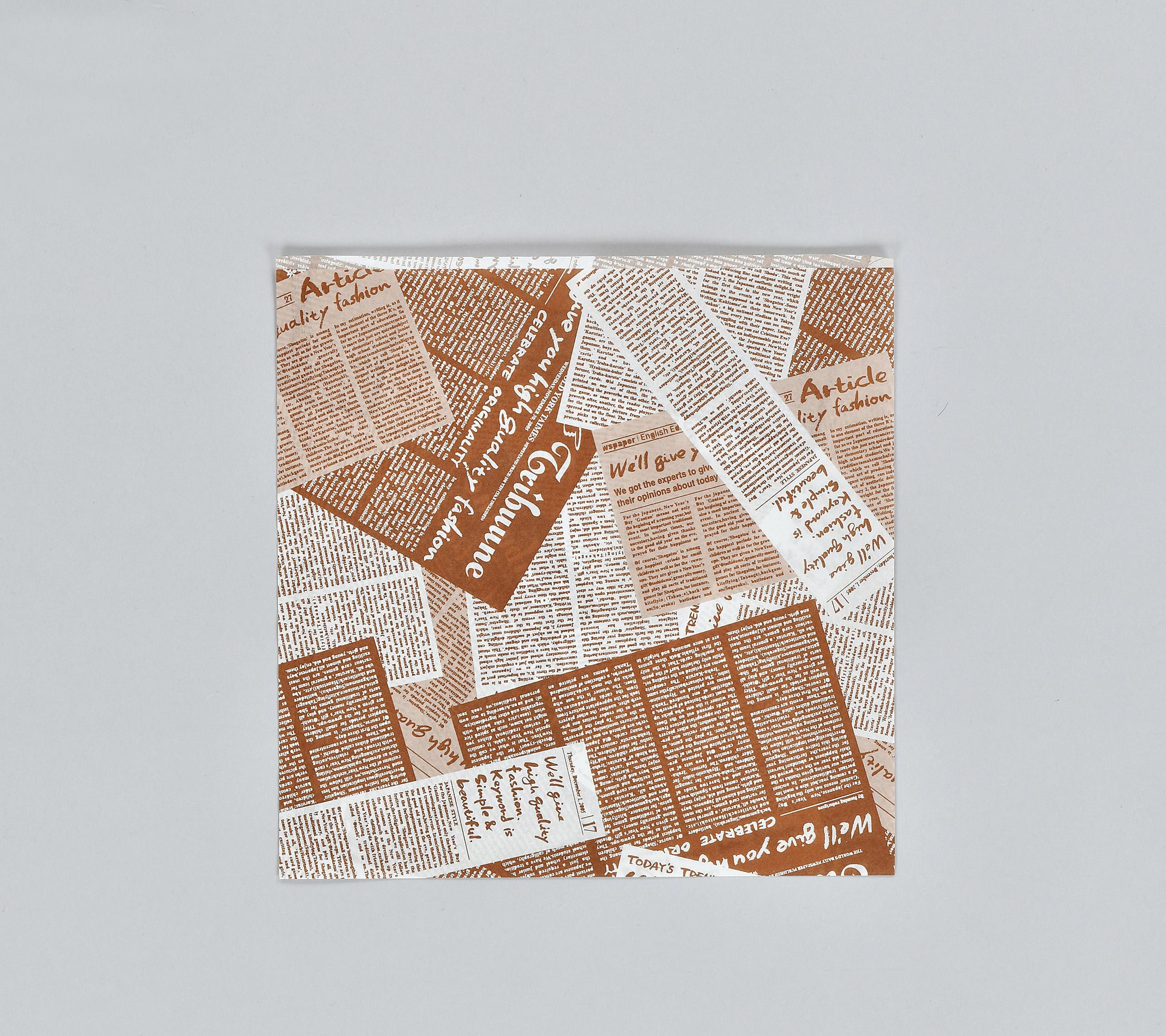バーガー袋 No.22 アーティクル(2000枚入り/ケース)使い捨て ハンバーガー ホットドッグ メロンパン 軽食